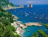 Amalfi Coast - Isle of Capri, Island of Paradise surrounded by the mediterranen blue and rugged terrains