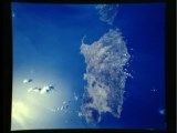 From Space Sardinia Regione South Italy